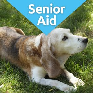 SeniorAid nutritional supplment for older dogs