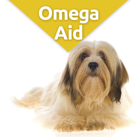 OmegaAid Skin & Coat Supplement for Dogs