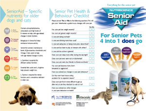 Help them through with SeniorAid